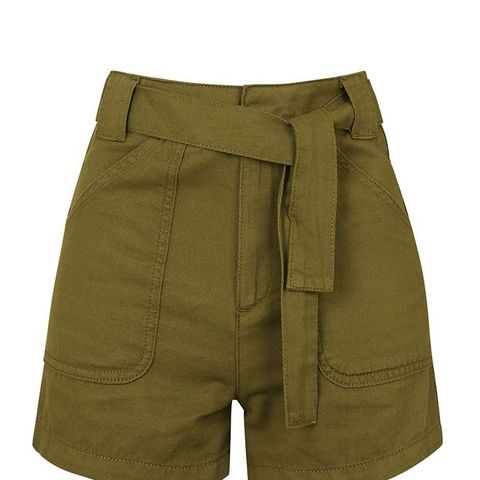 Utility Tie Shorts