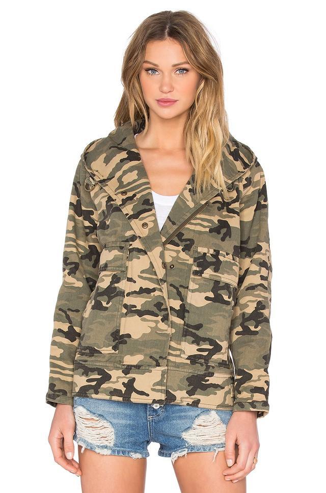 Capulet Hooded Military Jacket