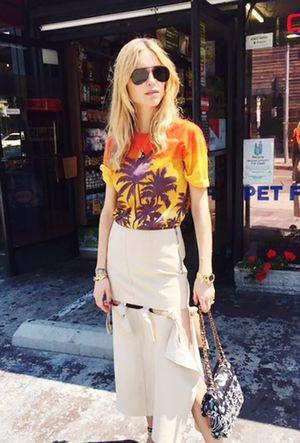 See How a Danish Girl Tackles Coachella Style