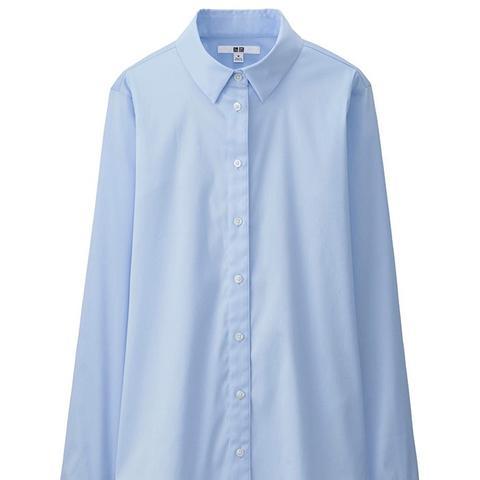 Supima Cotton Stretch Long Sleeve Shirt