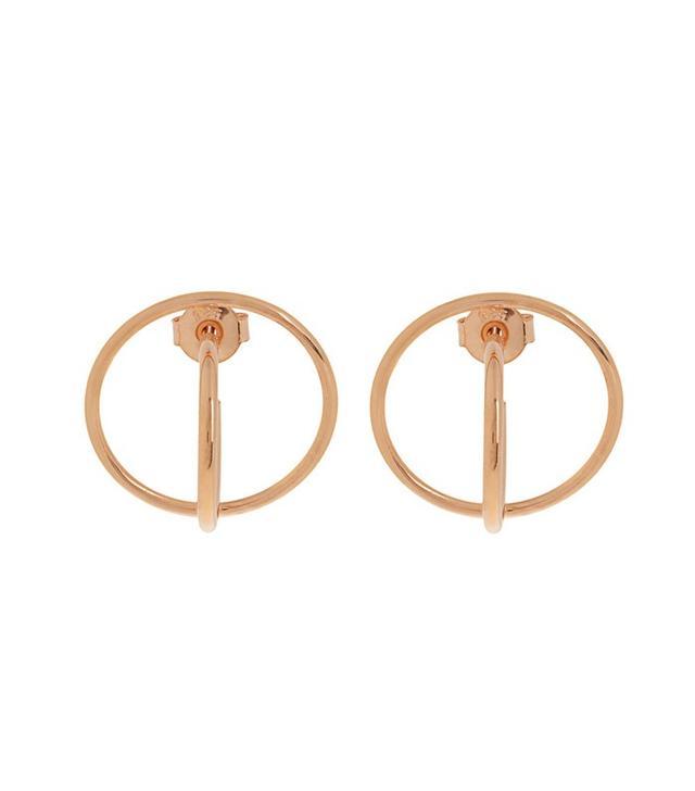 Charlotte Chesnais Saturn Gold Plated Earrings
