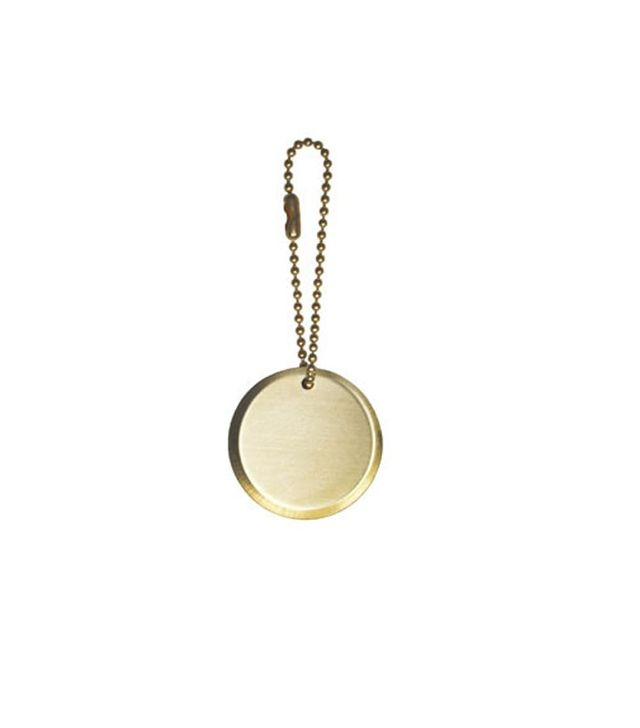 IGWT Circle Plaque Keychain