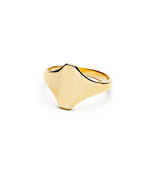Jacquie Aiche Signet Shield Ring