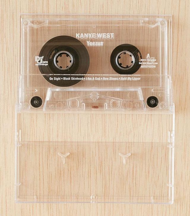 Kanye West Yeezus Cassette Tape
