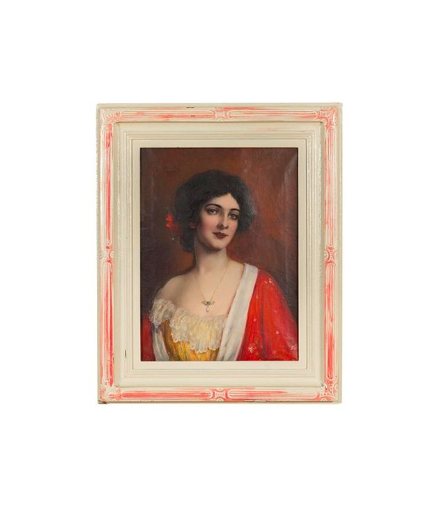 Carle J. Blenner Spanish Model Oil Painting