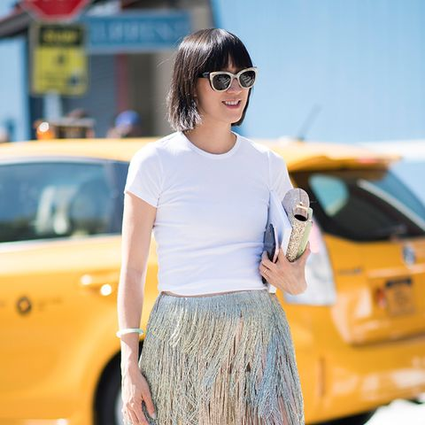 How to Wear Sneakers When You're Not in Your 20s Anymore