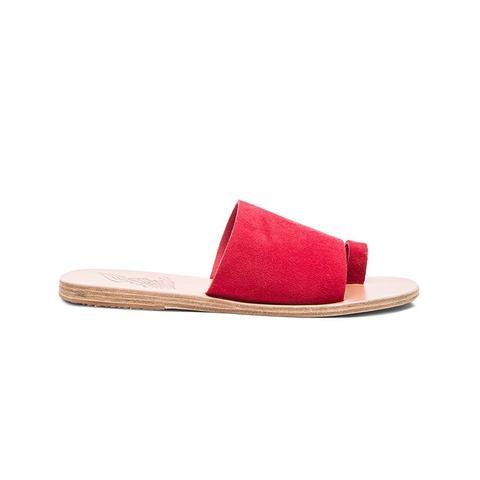 Suede Ligia Sandals