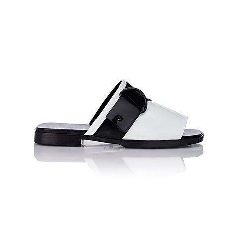 Asymmetric Monk-Strap Slides