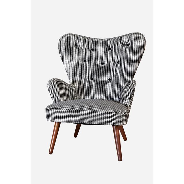 Fenton & Fenton Houndstooth 1950's Chair