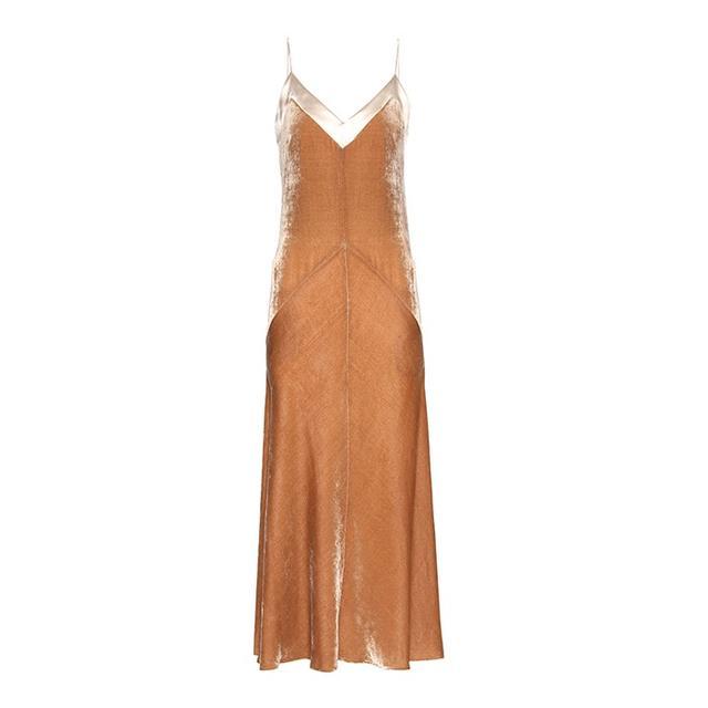 Hillier Bartley Velvet Slip Dress