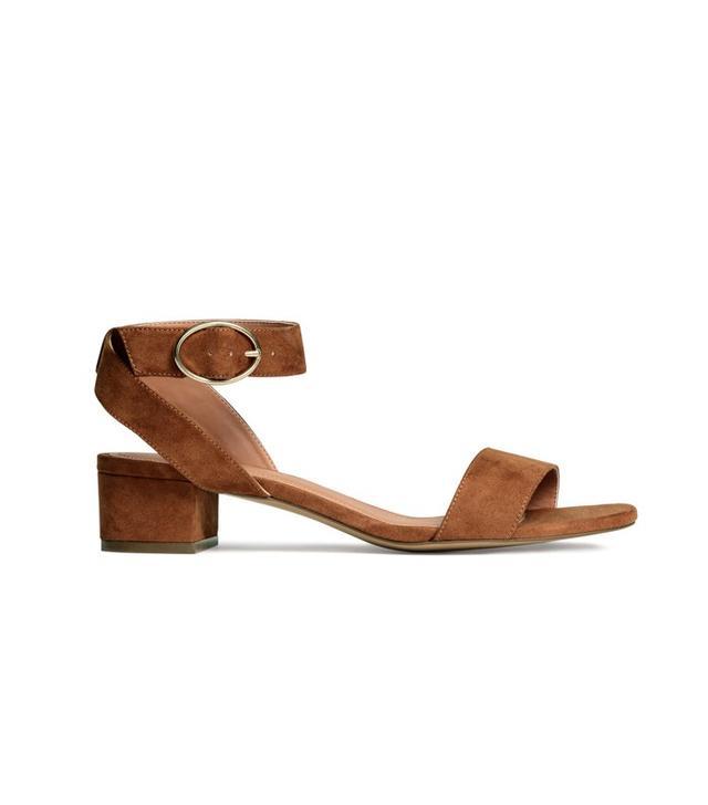 H&M Block-Heel Sandals