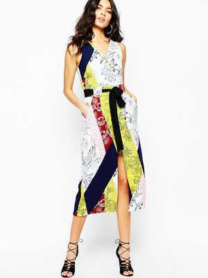 Love, Want, Need: River Island's Vibrant Wrap Dress