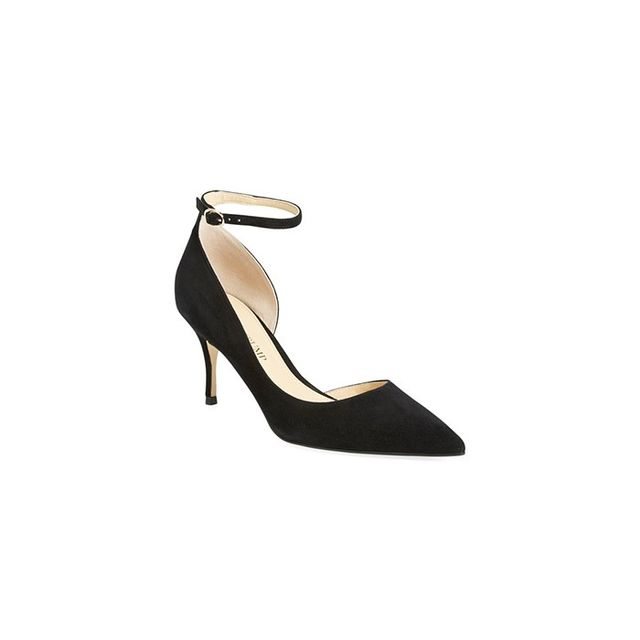 Ivanka Trump Brita Ankle Strap Pointy Toe Pumps