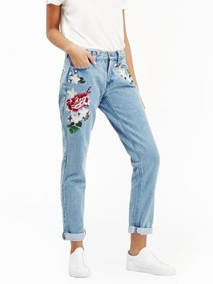 Love, Want, Need: French Connection's Embroidered Jeans