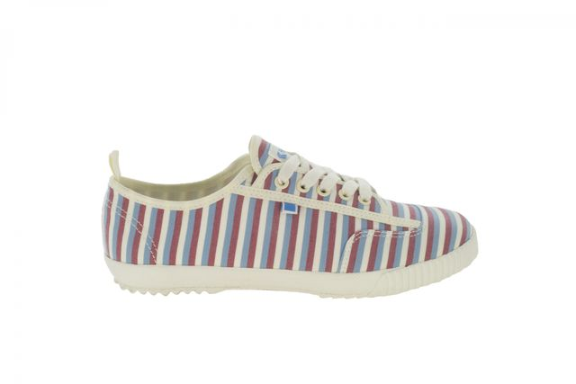 Feiyue x Solid & Striped Valerie Multi Strpe