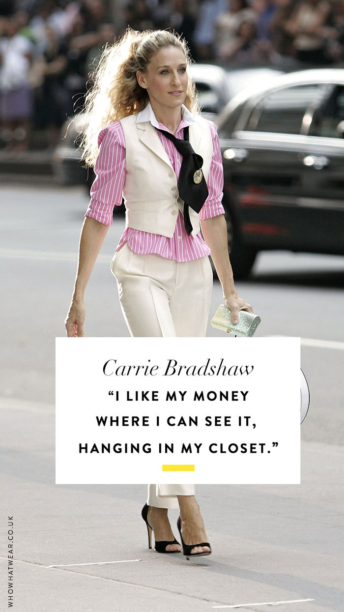 Fashion quotes: Carrie Bradshaw