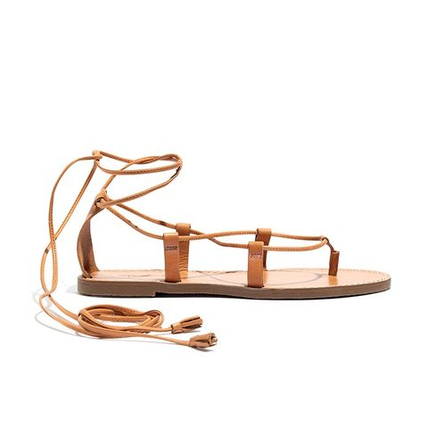 Boardwalk Lace-Up Sandals