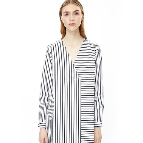 Long Oversized Stripe Top