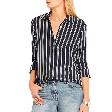 Le Boyfriend Striped Shirt