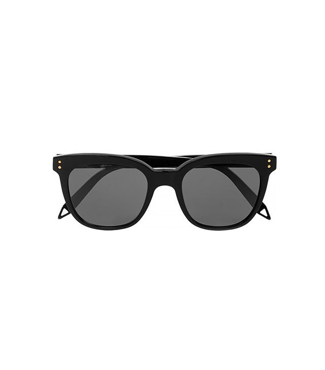 Victoria Beckham The VB Wayfarer-Style Acetate Sunglasses