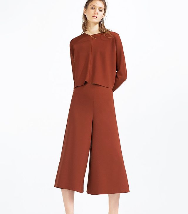 Zara Cropped Trousers