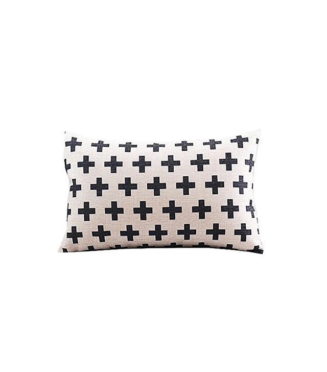 Create For-Life Cotton Linen Decorative Pillowcase