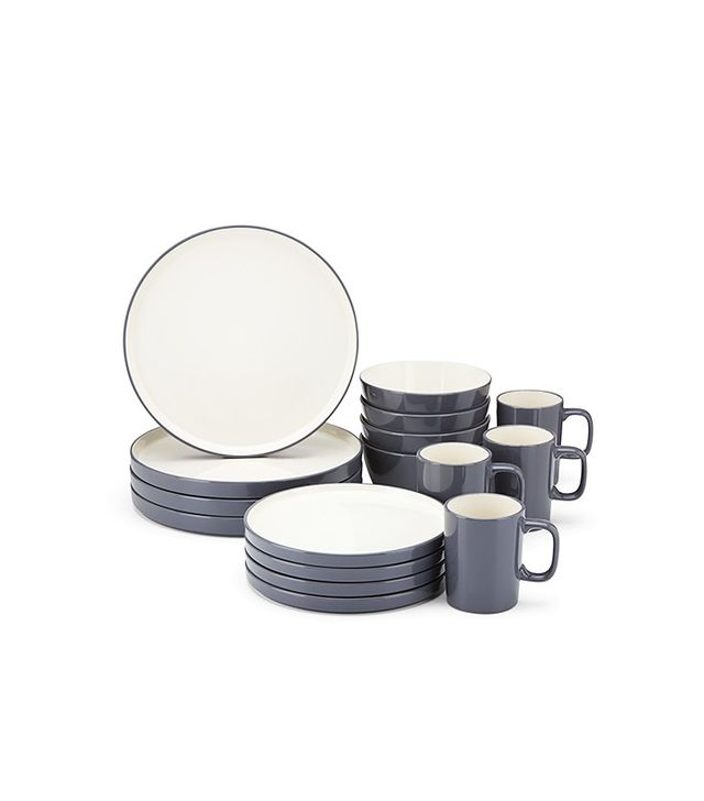 Gorham Modern Farmhouse 16-Piece Dinnerware Set