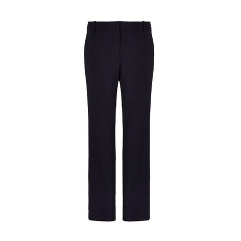 Stretch Faille Cropped Beatle Pants
