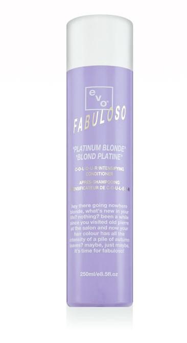 Evo Fabuloso Platinum Blonde Colour Intensify
