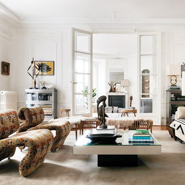 This Glamorous Parisian Home Is How Fashion Designers Live