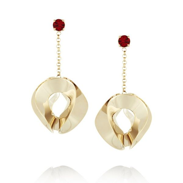 Etro Gold Plated Earrings