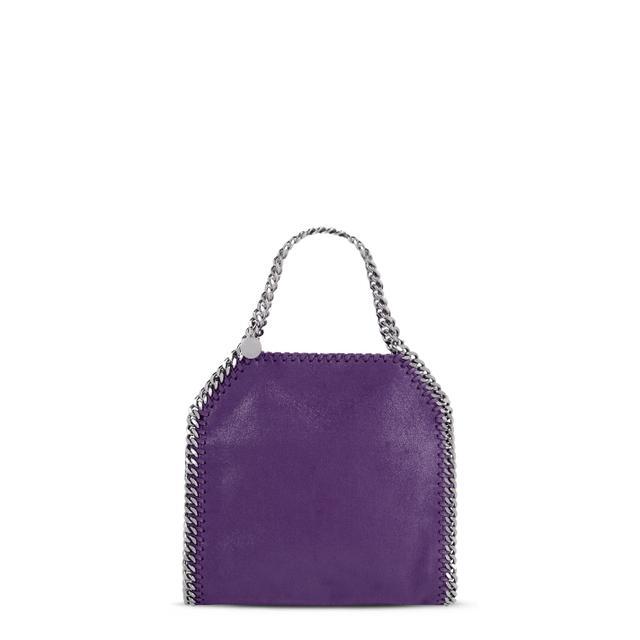Stella McCartney Falabella Mini Tote in Bright Purple