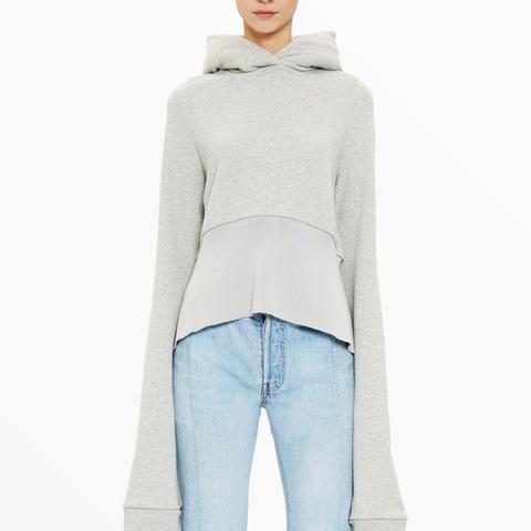 Extra-Long Sleeved Hoodie