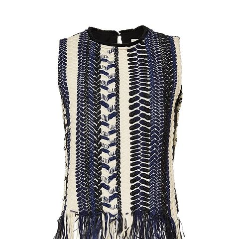 Braided Chevron Sleeveless Top