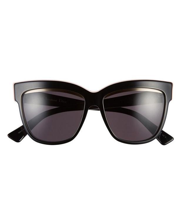 Dior 55mm Cat Eye Sunglasses