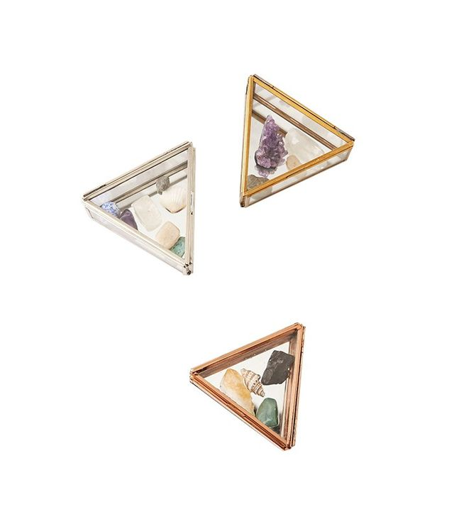 Urban Outfitters Triangle Glass Box