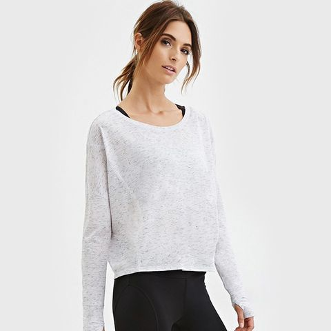 Active Space Dye Knit Top