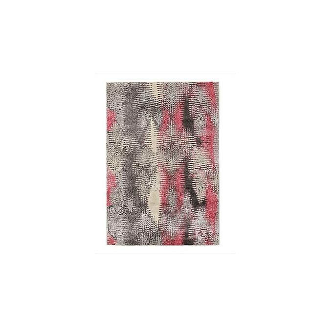 Rug Culture Basquiat Modern Rug, Pink