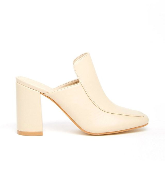 Truffle Collection Harp Heeled Mules