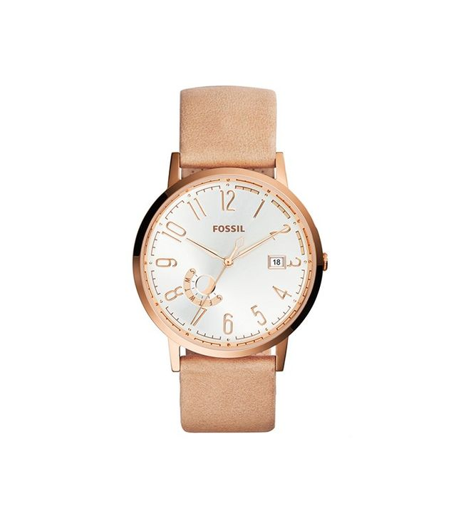 Fossil Vintage Muse Sand Leather Watch
