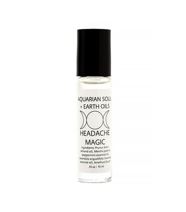 Aquarian Soul + Earth Oils Amethyst Headache Oil