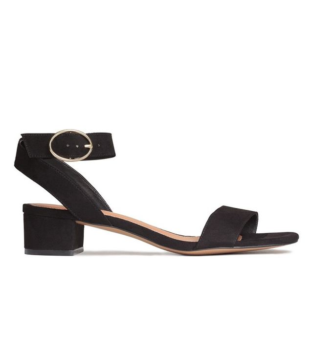 H&M Block-Heeled Sandals