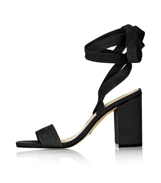 Topshop Rapping Ankle-Tie Sandals