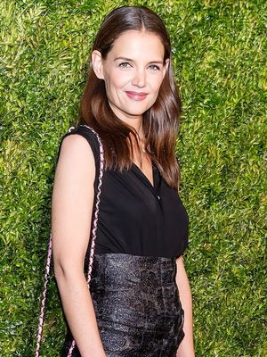 Katie Holmes Makes Pink Look So Sophisticated
