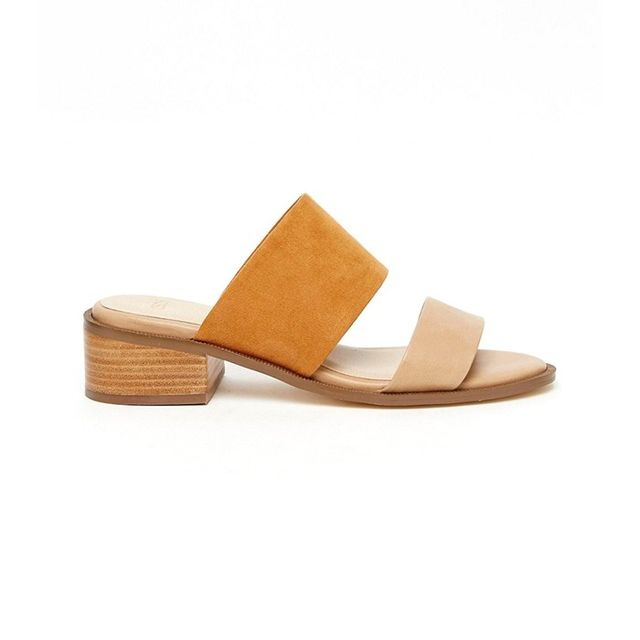 Asos Topic Slip On Mule Sandals