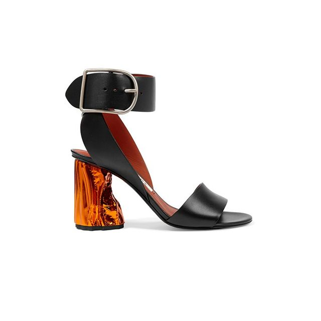 Acne Studios Obin Leather Sandals