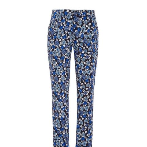 Floral Printed High Waisted Pants