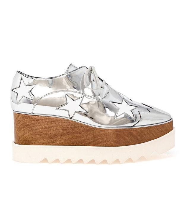 Stella McCartney Scarpa Metallic Star Shoes