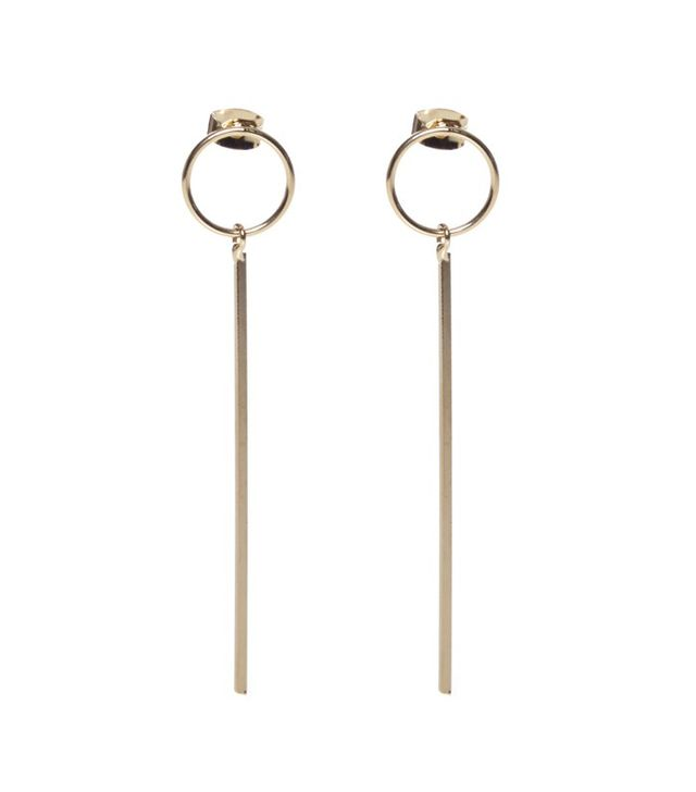 Otte New York Circle Drop Earrings
