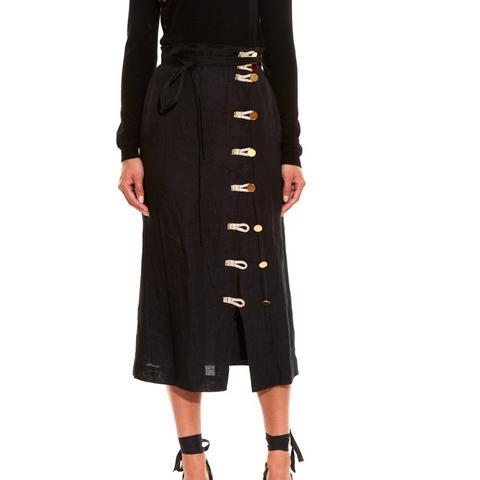 Hiroki Lenin Midi Skirt